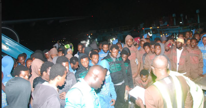 Another batch of 258 Nigerian deportees arrive Lagos Airport