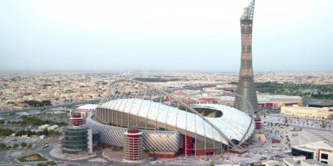Qatar Builds Air Conditioned Stadium for 2022 World Cup