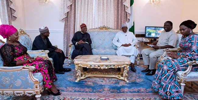 I'm Okay now waiting for doctors directive to return home –Buhari