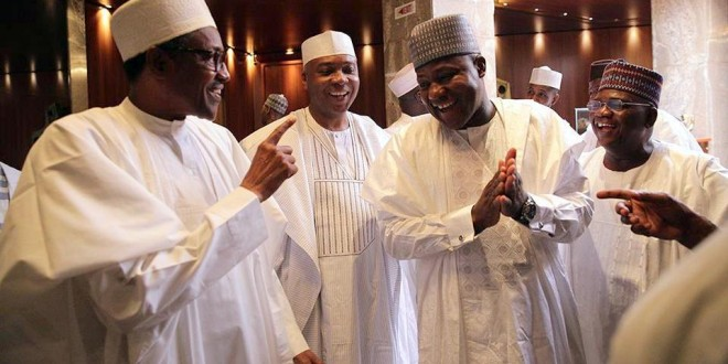 Buhari and NA members