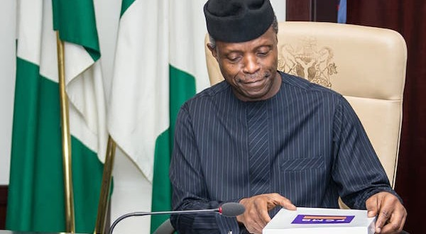 VP Osinbajo seeks revival of anti-corruption war