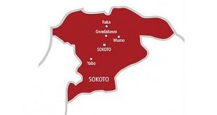 Map of Sokoto State
