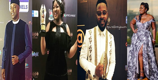 some of AMVCA winners