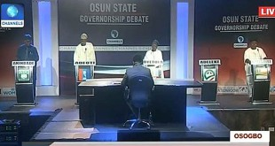 Osun Gov asparants Debate