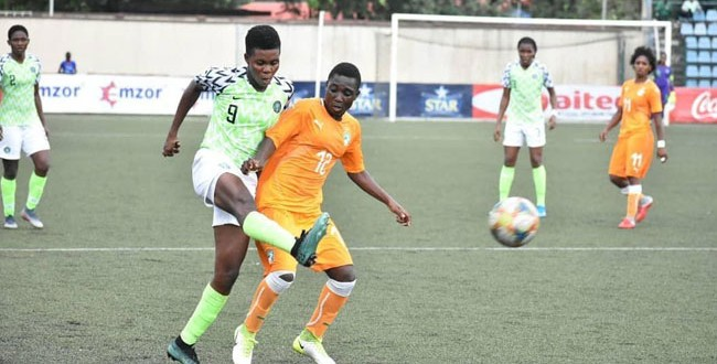 Super Falcons in Action
